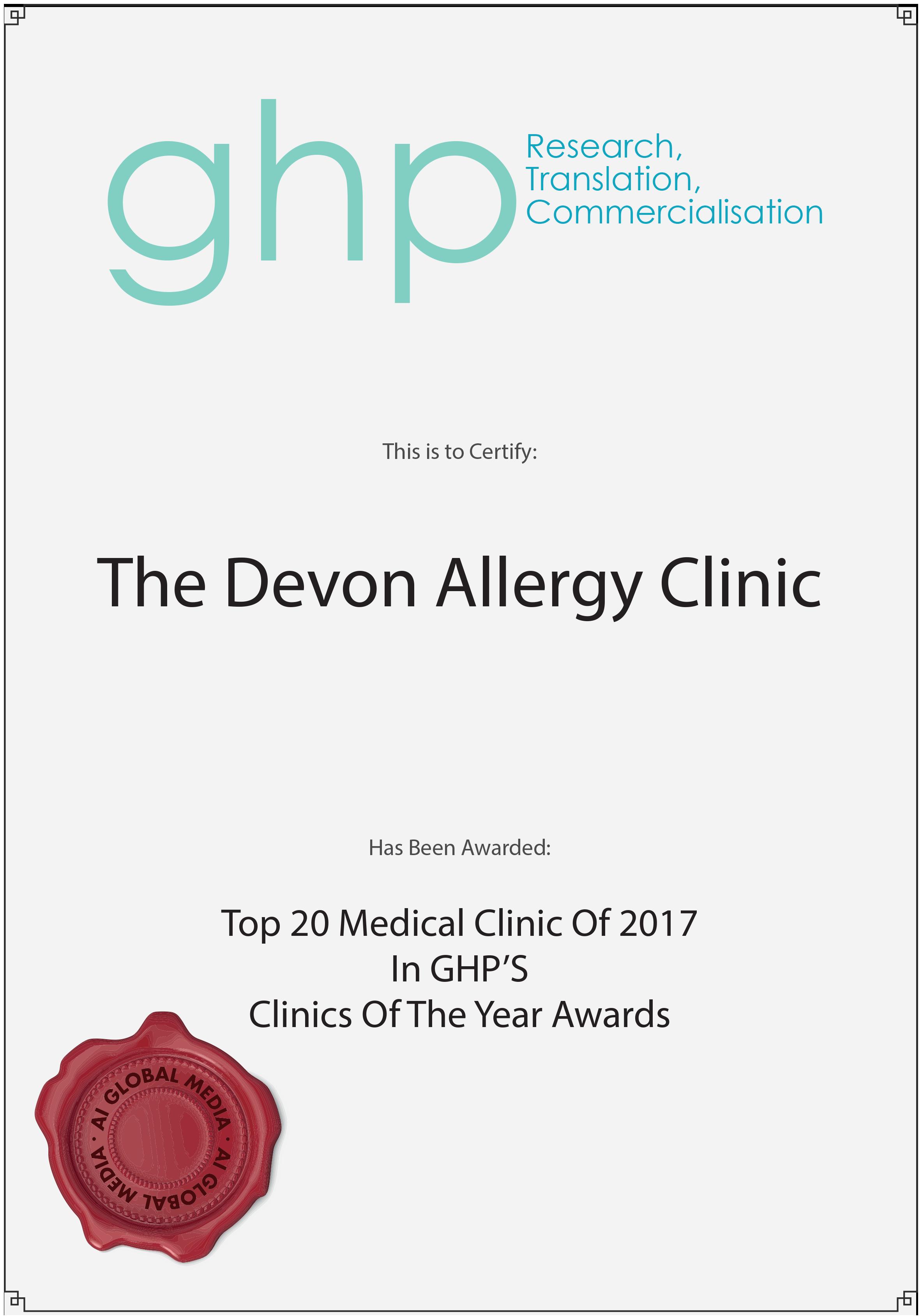 The Devon Allergy Clinic