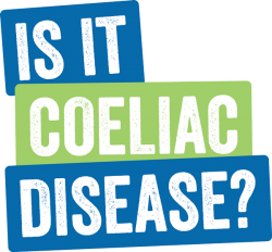 Coeliac disease image logo for information